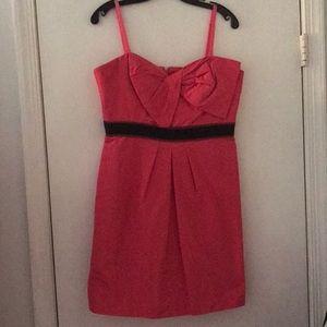 BCBG MaxAzria dress with removable straps
